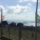 People's Park Overlooking Taal Volcano in Tagaytay, Philippines
