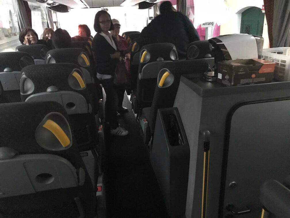 Travel Bus in Vienna, Austria to Gmunden, Austria - Archievald Travel and Food