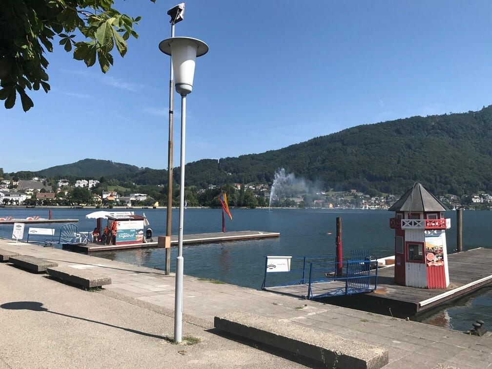 Landing Plaza in Gmunden, Austria - Archievald Travel and Food