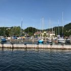 Yacht in Gmunden, Austria – Archievald Travel and Food