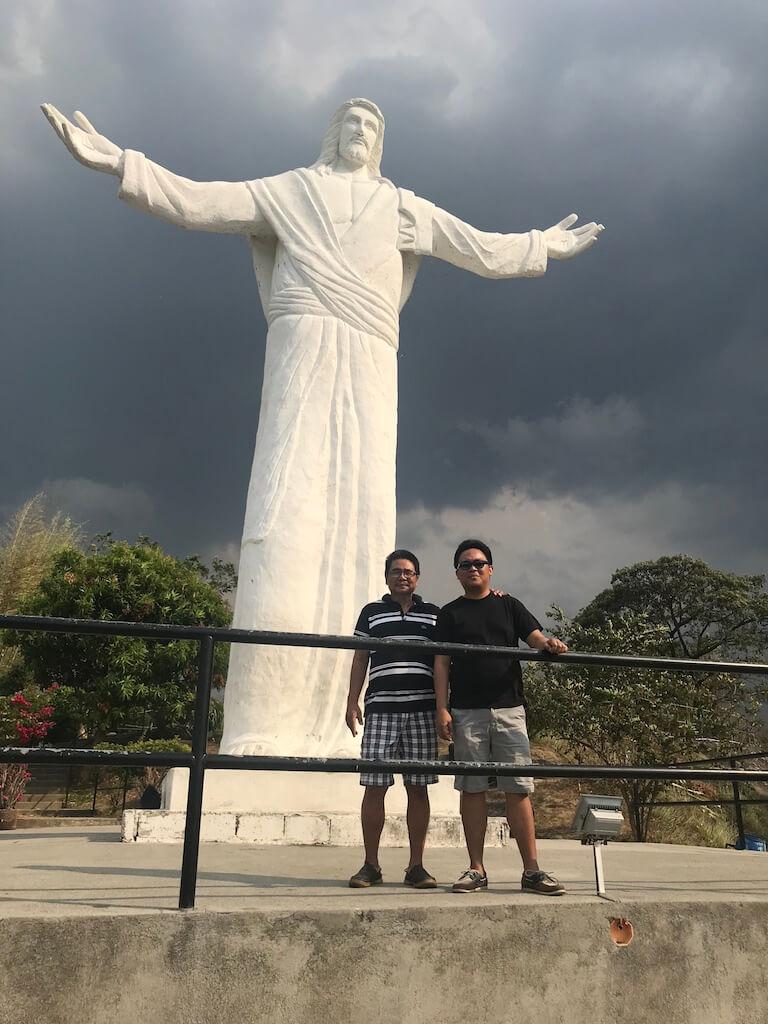 Jesus Christ Statue in Monasterio de Tarlac in San Jose, Tarlac, Philippines - Archievald Blog